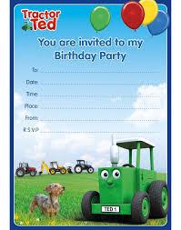 Birthday Celebration Invitations